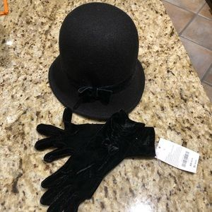 Dress up hat and gloves 4 year old